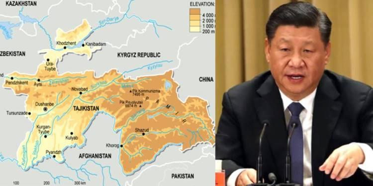 Çin, Xi Jinping, Tacikistan