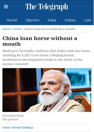 AIIB, China, India